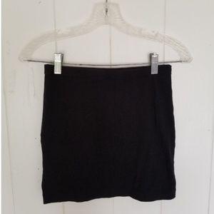 Basic Black Mini Skirt
